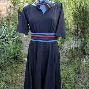 Black Stretch eShakti Dress M